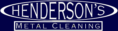 Henderson's Metal Cleaning banner